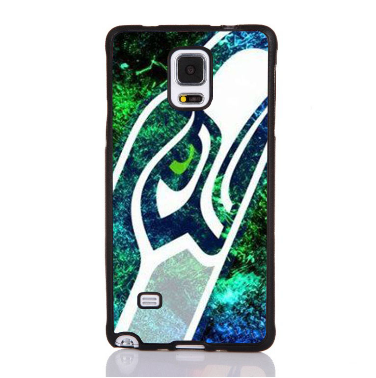 NFL seattle seahawks Printed Soft TPU Skin Mobile Phone Cases For Samsung S4 S5 S6 S7edge plus Note 3 Note 4 Note 5 Cover Shell(China (Mainland))