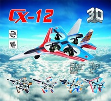 High Quality Cheerson aircraft CX-12C CX-12B Mini Fighter 2.4G 4CH 6 Axis drone LED light RC Quadcopter 3D tumbling TOYS GIFTS