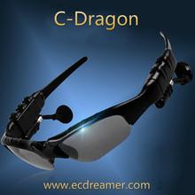 Auricular Inalámbrico de Auriculares Bluetooth Estéreo de Música Llamada de Teléfono Manos Libres Auricular Gafas De Sol Más Nuevo envío libre