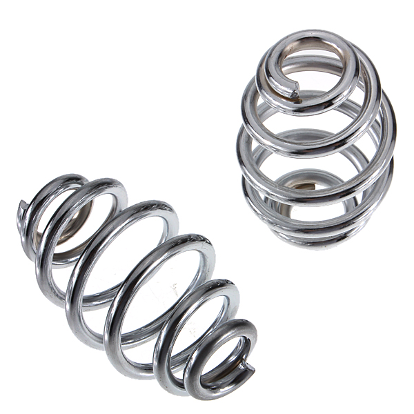 3 Inch Chrome Motorcycle Solo Seat Springs Set For Harley Chopper Bobber<br><br>Aliexpress