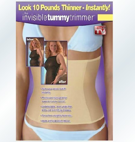 100% qualified Invisible Tummy Trimmer seen TV body shapers waist cinchers corset  -  Most Economic shop store