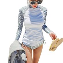 2016 Rash Guard Women Surf Rashguard Swimsuit Long Sleeve Swimwear Surfing Bathing Suits For Women Biquini Maillot De Bain Femme