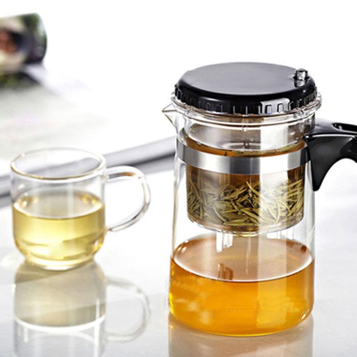 Free Shipping, Hot Selling, Drinkware 500ml Teapot,Glass Tea Pot High Quality ,Two kinds To Choose, Tea Set(China (Mainland))