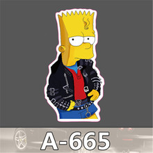 A-665 Tide Brand Car Scratch Stickers Pvc Waterproof Suitcase Stickers Affixed Leaflet Cartoon Dead Fly Slip A Stick(China (Mainland))