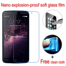 Buy never broken Nano Explosion-proof Soft Glass Clear Screen Protector Protective Lcd Film Doogee HomTom HT17 for $1.48 in AliExpress store