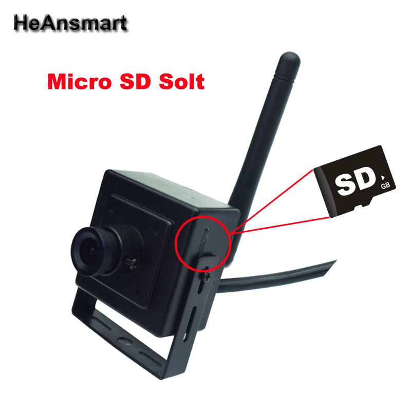 Mini IP Camera WiFi 720P Wireless Security Camera XMEye App CCTV Surveillance Cam Support Micro SD Card Recording PC Browser CMS(China (Mainland))