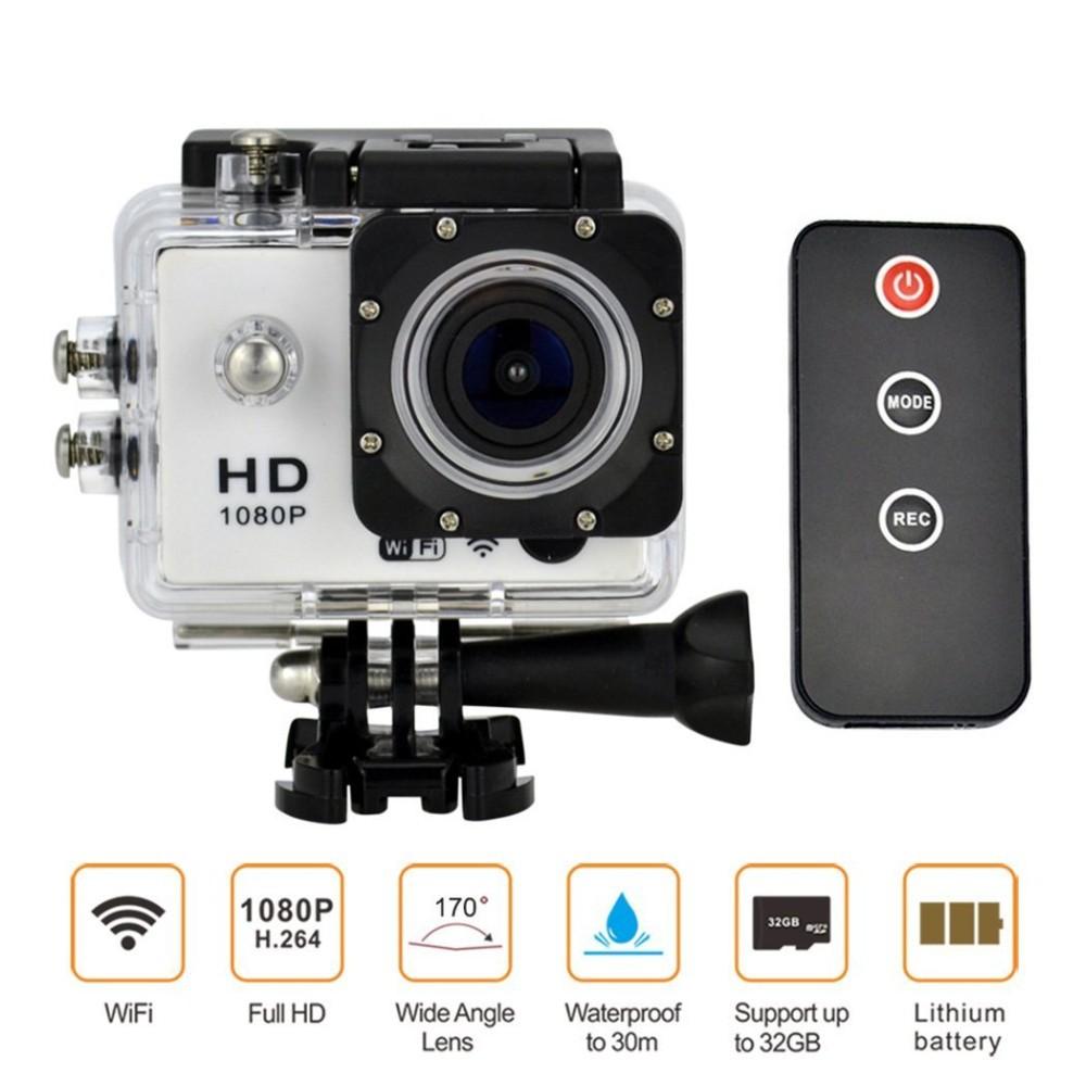 Gopro camera style Full HD1080P WIFI Sports Camera IR Remote Control Diving 30M Waterproof Camcorder Digital photo Camera(China (Mainland))