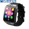 Q18 Bluetooth Smart Watch Wristwatch Phone with Pedometer Anti lost Camera SIM TF Card HD Sreen