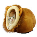 Pet Cat Beds House For Dogs Cat Leopard Lion Deer Shaped Dog Beds For Small Dog