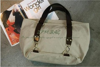 2013 classic practical joker canvas bag female bag bag shopping bag bag 8214.Value so lowest price!Free shipping