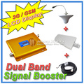 LCD Display 3G W CDMA 2100MHz GSM 900Mhz Dual Band Mobile Phone Signal Booster Cell Phone