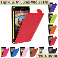 Crazy Horse Texture Vertical Flip Leather Case for Nokia Lumia 1020 Free shipping