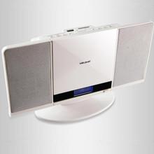 2015 nuevo envío libre cd de la pared máquina sec audio de escritorio reproductor de cd unidad flash usb mp3 inventario de el comercio exterior de 2015(China (Mainland))