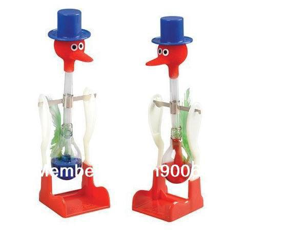 New Hot Drinking Bird USA ASTM certificate happy bird, perpetual motion bird  children education Toys