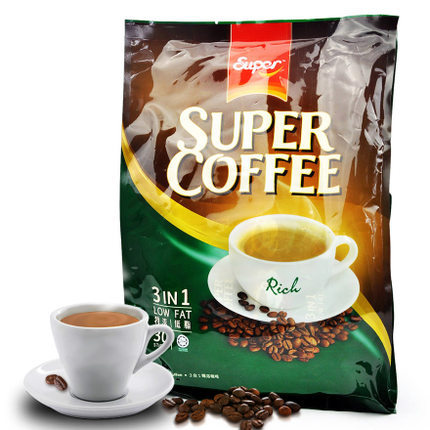 super espresso 600 grams of ipoh 3 in 1 instant coffee powder