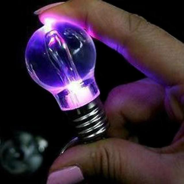 Free shipping Wholesale Genuine 4GB 8GB 16GB 32GB Blue light Lamp bulb shape 2.0 Memory Stick Flash Pen Drive W/ LED light bulb