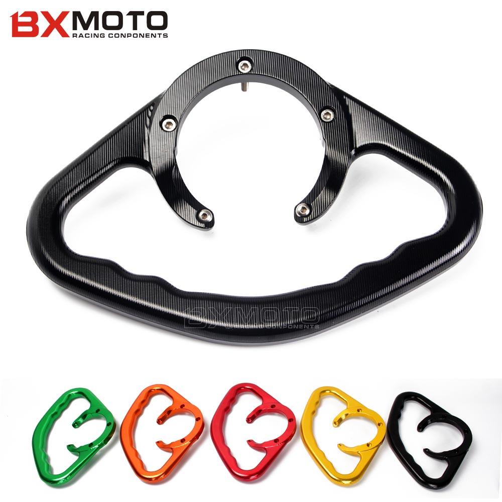 for Suzuki GSXR GSX-R 600 750 GSXR600 GSXR750 Motorcycle CNC Passenger Handgrips Hand Grip Tank Grab Bar Handle Armrest(China (Mainland))