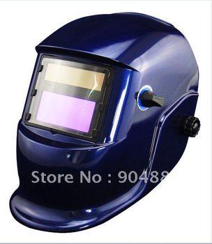 Battery+Solar auto darkening welding helmet/weld mask for the MIG MAG TIG CT TSC KR welding machine and CUT plasma cutter