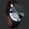 Men Watches 2016 Luxury Brand Quartz Sport Military Stainless Steel Dial Leather Band Wrist Watch Men