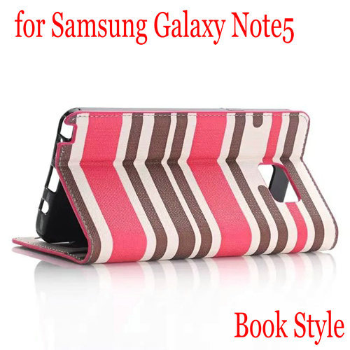 For Samsung Galaxy Note 5 Case Color Fringes Leather Wallet Flip Stand Cover For Samsung Galaxy Note 5 Mobile Phone Cases(China (Mainland))