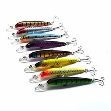 Laser Minnow Fishing Lure 8.5cm/3.94 6.9g/0.27oz pesca hooks fish wobbler tackle crankbait artificial japan hard bait swimbait