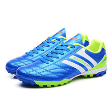 quality guaranteed men football shoes TF nail soccer shoes for teenagers boys trainers HG outdoor soccer cleats size 33-44 S41