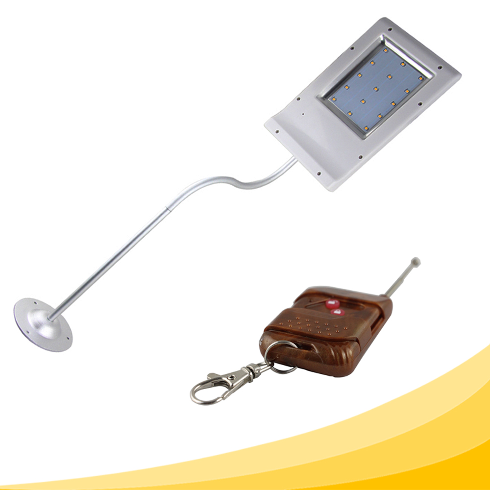 15 LED Street Lights Price Cheaper outdoor Lamp Solar Control Remote Path Wall Emergency Lamp Security SpotLight 20000LUX IP55(China (Mainland))
