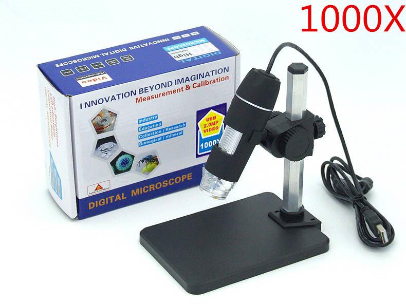 Цифровой микроскоп 1000 x USB + , 8/USB