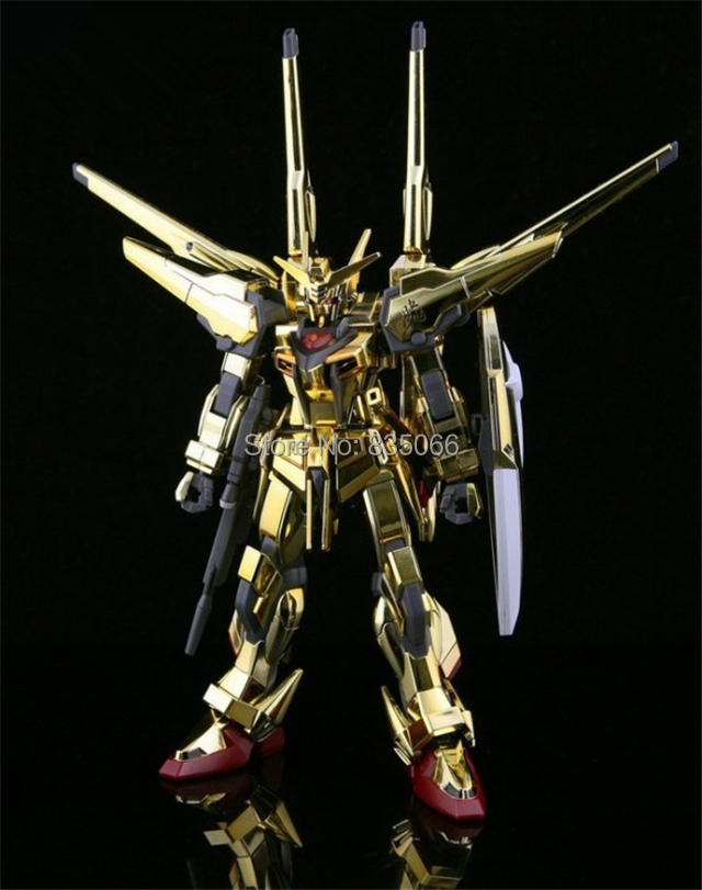 GAOGAO Japanese anime figures Gundam 1/144 HG SEED -38 Akatsuki ORB-01 robot action figure plastic model kits toys - R,Y boutique Toy Store store