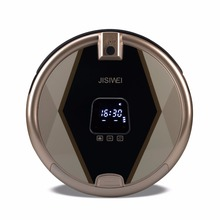 2016 Newest JISIWEI S+ Smart Robot Vacuum Cleaner TPU Avoidance Sensor Remote Mobile APP Control HD Camera Robot Mopping Cleaner(China (Mainland))