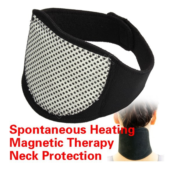 Magnetic Therapy Neck Spontaneous Heating Neck Massager Free Shipping(China (Mainland))