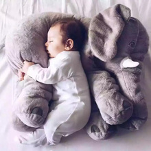 Buy Large Plush Elephant Toy Kids Sleeping Back Cushion Elephant Doll Baby Doll Birthday Gift Holiday Gift for $18.63 in AliExpress store