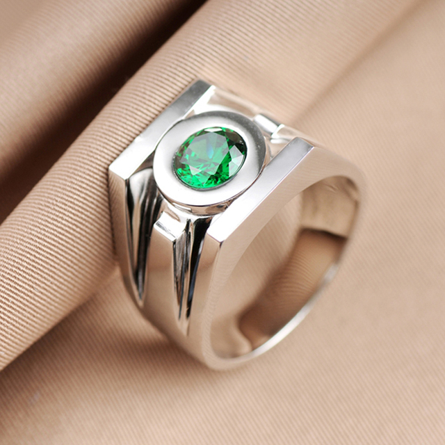 top quality green lantern rings band for
