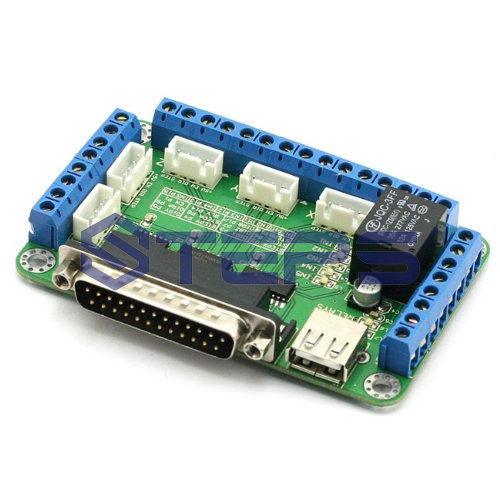 Free Shipping Mach3 5 Axis Cnc Breakout Board Interface