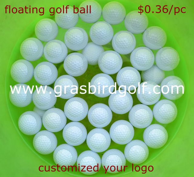customize your logo floating golf ball for practice, driving range golf ball, water golf ball OEM(China (Mainland))