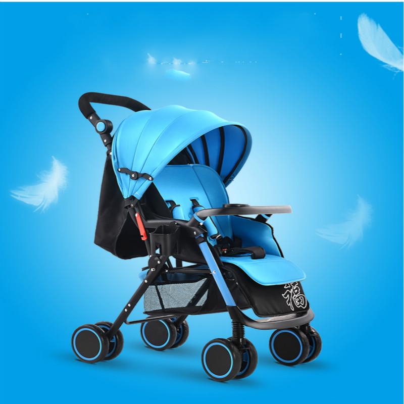 Baby stroller light push baby car four wheel folding baby bb car umbrella<br><br>Aliexpress