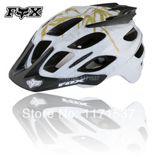 new 2014 Free Shipping Fox Flux Helmet Extreme Sports Skateboard Climb Bicycle Helmet Mountain Bike Helmet(China (Mainland))