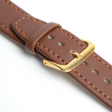 2015 Top Fashion New Arrival Soft Durable PU Leather Black Coffee Men Women Watch Strap Band