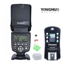 Buy YONGNUO YN560 IV,YN-560 IV Master Radio Flash Speedlite + RF-605 Wireless Trigger Canon Nikon D800 D750 1000D 650D 60D DSLR for $93.75 in AliExpress store