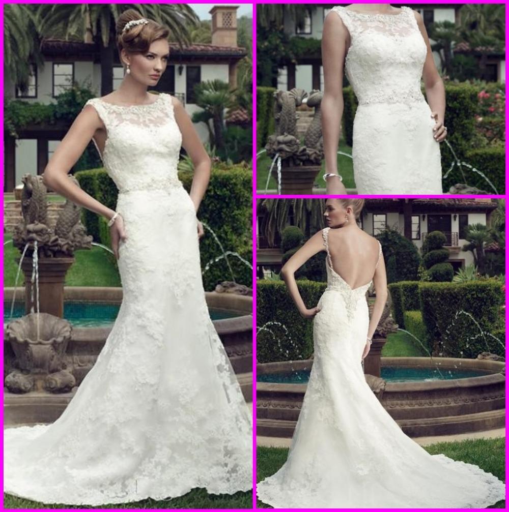 Кружева русалка свадебные платья аппликация из бисера свадебное платье на заказ спинки суд поезд Vestido Novia M1115
