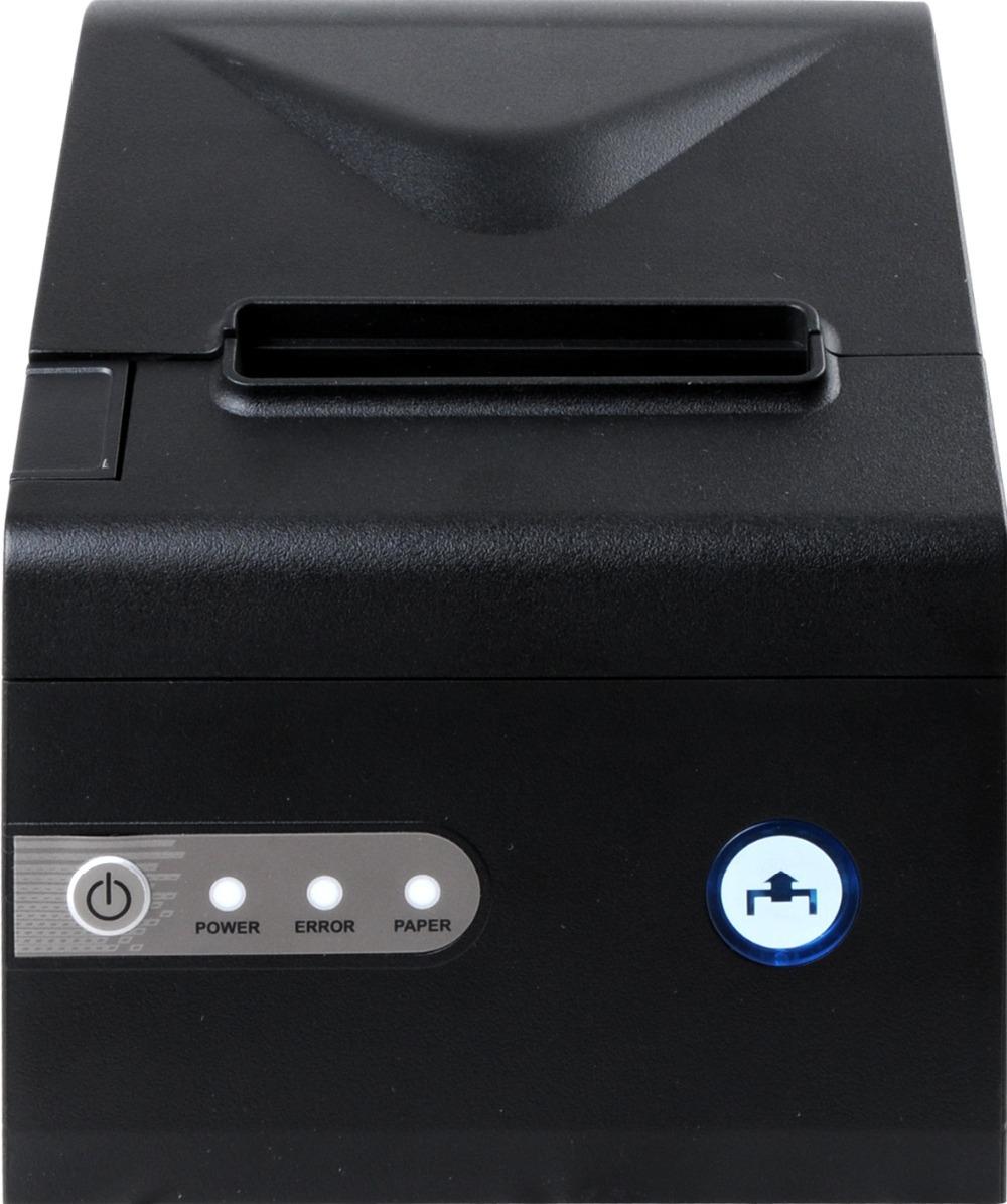 Фотография POS printer High quality 80mm auto cutter Oil proof waterproof and dustproof kitchen printer Thermal receipt printer