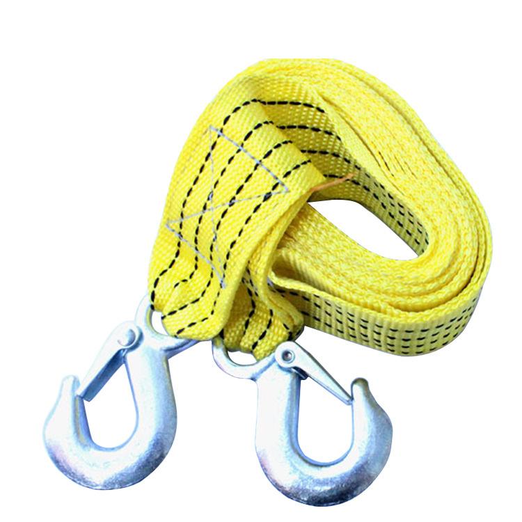 5 шт./лот автомобилей буксировочный трос кабель буксировка с крючками аварийного тяжелой работы 3 м на 3 тонн