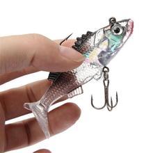 1 pcs Fishing Lure 8.5 cm/8 g Artificial Soft Bait Carp Crankbait Treble Tackle Bionic Hooks lifilike Fishing Accessories Q038(China (Mainland))