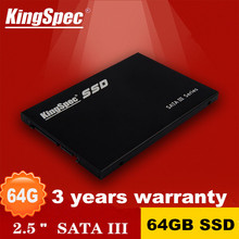 "ACSC2M064S25 Original KingSpec 2 .5"" SATA2 SATAII SATAIII 6Gb/s MLC SSD 64GB Solid State Drive for DIYComputer Laptop Desktop(China (Mainland))"