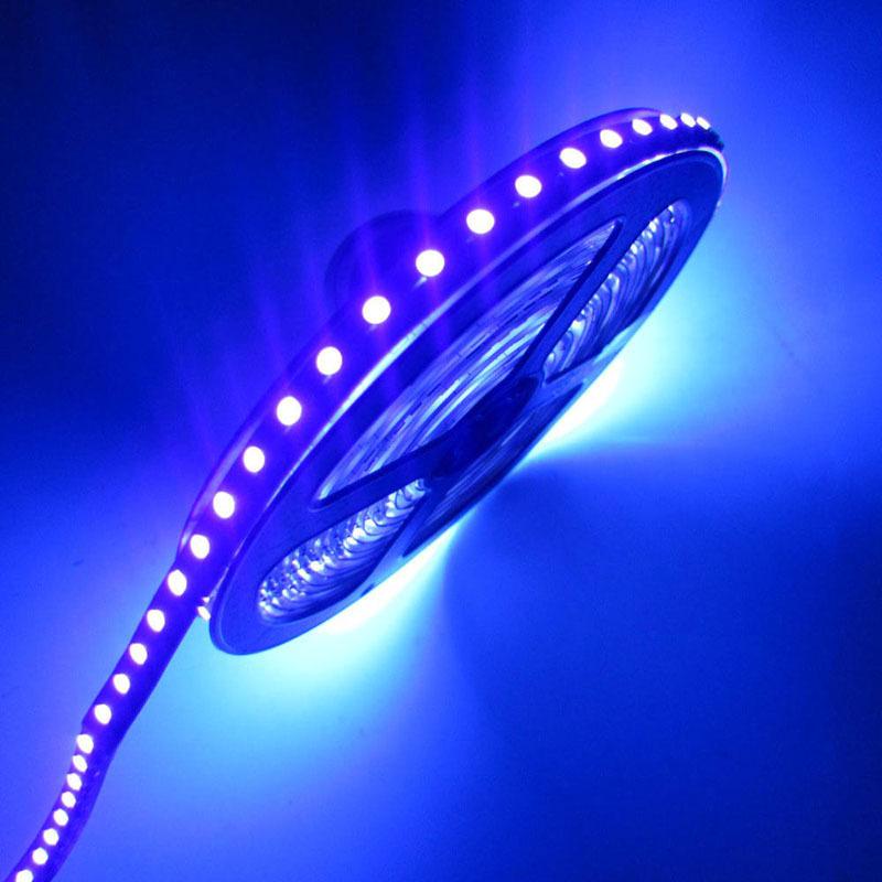 Гаджет  12V ip65 Waterproof 300/600 leds 3528/5050 smd UV Ultraviolet 395-405nm LED flexible Strip tape rope Ribbon black light lamp None Свет и освещение