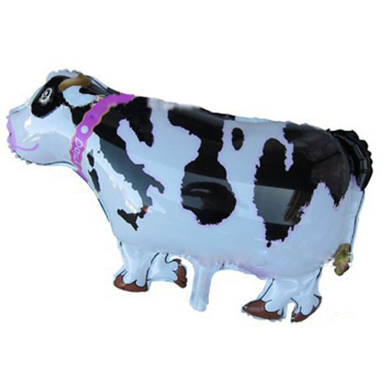 70x45cm classic toys air balloons cow balonlar gifts festival birthday party cow balloons inflatable foil helium cow balloons(China (Mainland))