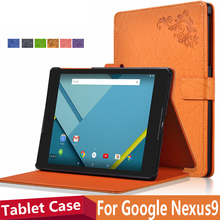 4in1 Original Brand Case Cover for Google Nexus 9 inch Tablet  PC PU Leather Flip Smart Case Cover