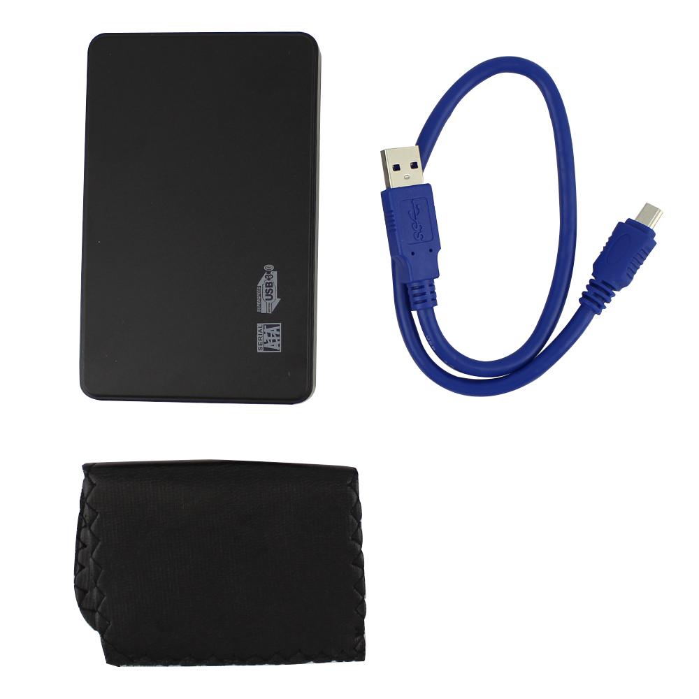 Free shipping 2.5 Inch SATA Aluminum enclosure HDD Case support 1TB USB3.0 SSD Enclosure usb 3.0 hdd box(China (Mainland))