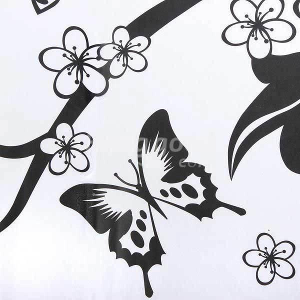 Mariposas para decorar paredes en blanco y negro imagui - Mariposas para decorar ...