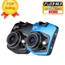 Car-styling Mini Blue Car DVR Camera GT300 Dashcam 1080 Full HD 1080p Video Registrator Recorder G-sensor Night Vision Dash Cam(China (Mainland))